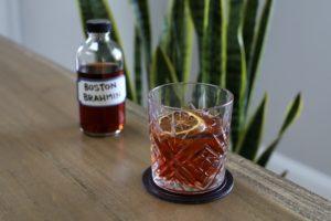Boston Brahmin bottled cocktail